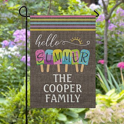 Sweet Summer Garden Flag