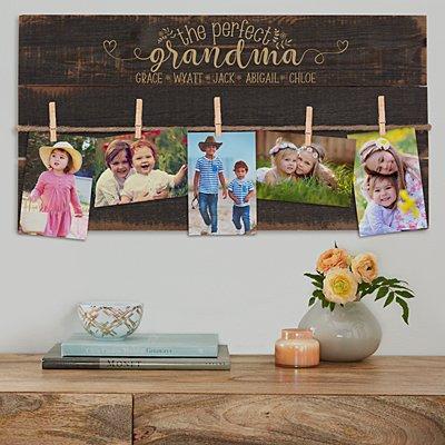 The Perfect Mom/Grandma Wood Pallet Wall Art