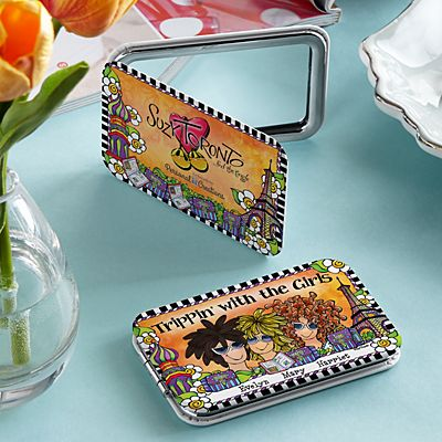 Trippin' with the Girls Purse Mirror by Suzy Toronto