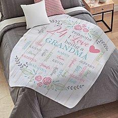 All The Ones I Love Plush Blanket