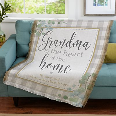 Heart of the Home Throw