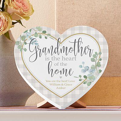 Heart of the Home Mini Wood Heart