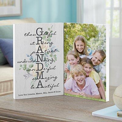 Amazing Mother & Grandma Photo Panel