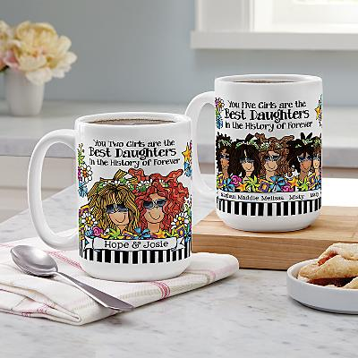 Best Daughter Ever Mug by Suzy Toronto