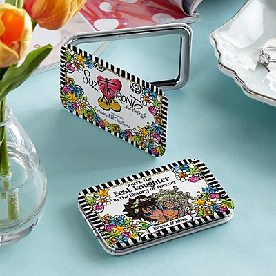 Best Daughter Ever Purse Mirror by Suzy Toronto