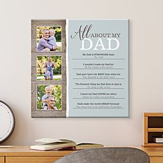 All About You Photo Canvas