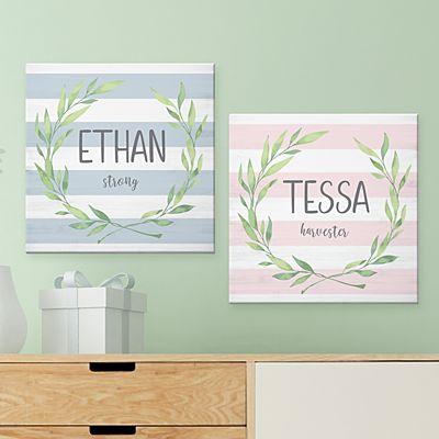 Baby Name Meaning Canvas