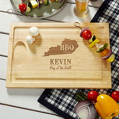 BBQ Local Wood Cutting Board