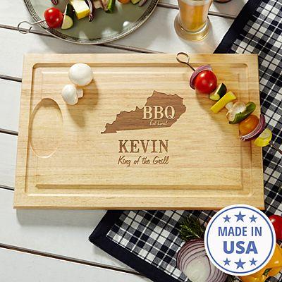 BBQ Local Wood Cutting Board