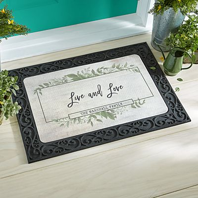 Beautiful Family Doormat