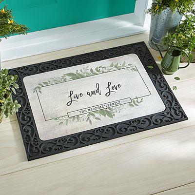 Beautiful Family Doormat