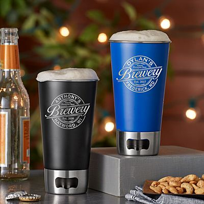 Big Time Brewery Bottle Opening Tumbler