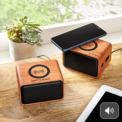 Bluetooth Wireless Charging Speaker