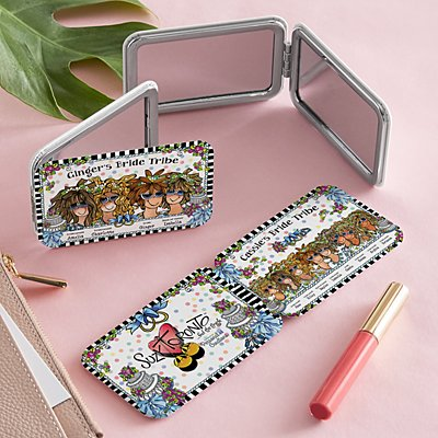Bride Tribe Purse Mirror by Suzy Toronto