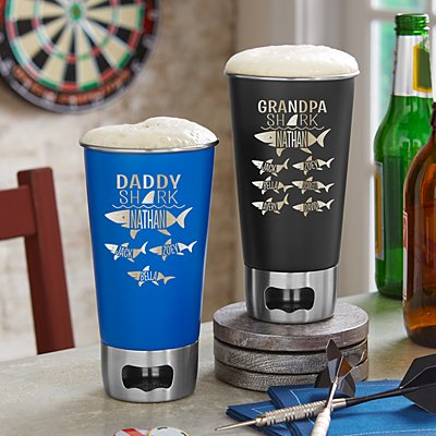 Daddy Shark Bottle Opening Tumbler