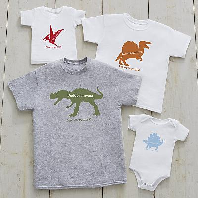 Daddysaurus Family Apparel