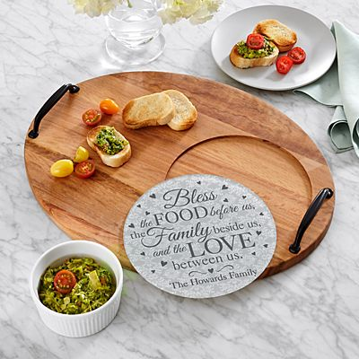 Bless This Food Entertaining Trivet Set