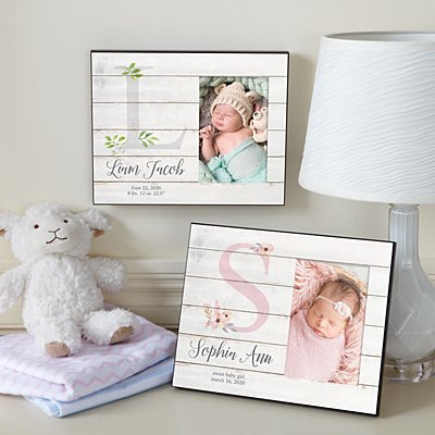 Elegant Baby Picture Frame