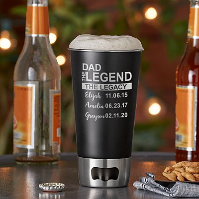 Family Legend Bottle Opening Tumbler