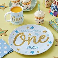 First Birthday Tableware
