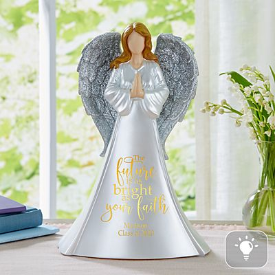 Bright As Your Faith Lighted Angel