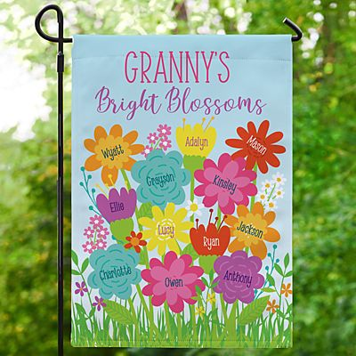 Bright Blossoms Garden Flag