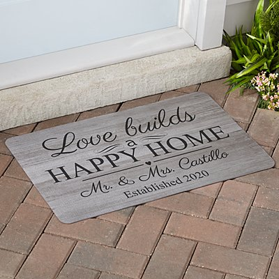 Love Connects Us Doormat