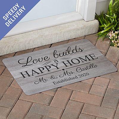 Love Connects Us Doormat