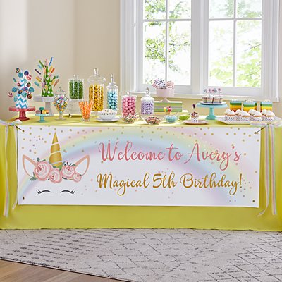 Magical Birthday Banner