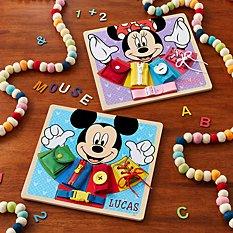 Melissa & Doug® Disney Wooden Basic Skills Board