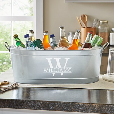 Name & Initial Beverage Tub