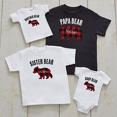 Papa Bear Family Apparel