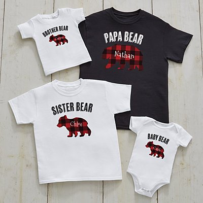 Papa Bear Family Apparel