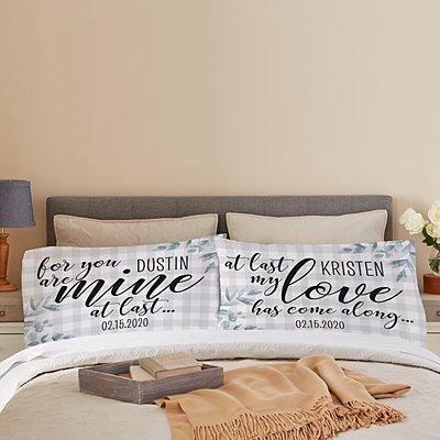 At Last Pillowcase Set - Set of 2