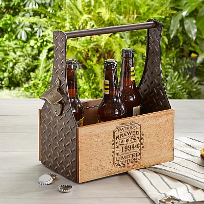 Brewed To Perfection Beer Caddy
