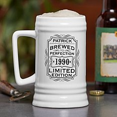 Brewed To Perfection Beer Stein