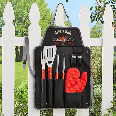 Chillin' & Grillin' 7pc BBQ Set