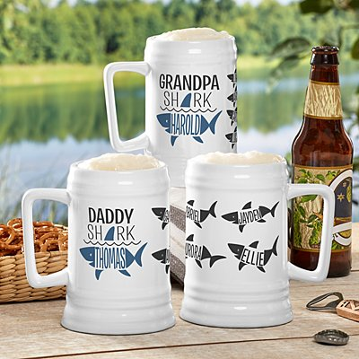Daddy Shark Beer Stein