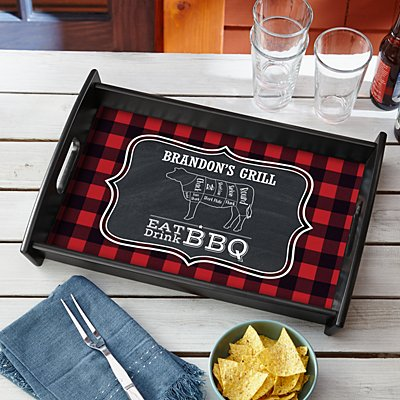 Eat Drink BBQ Tray