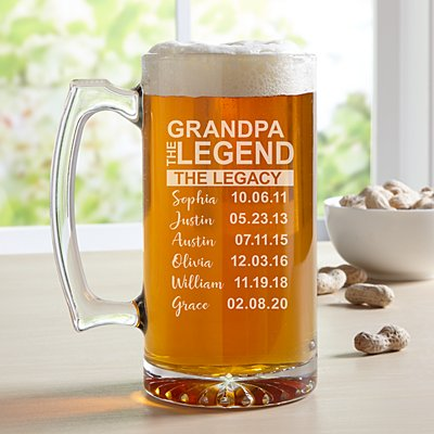 Family Legend Oversize Beer Mug