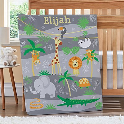 Jungle Baby Blanket