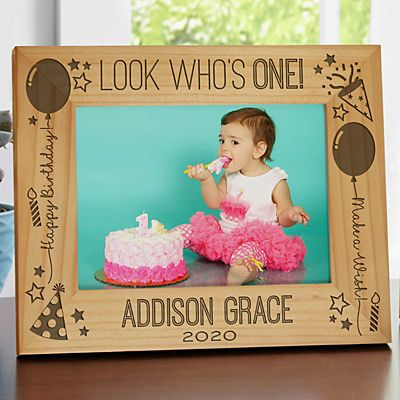 Look Who's... Birthday Frame
