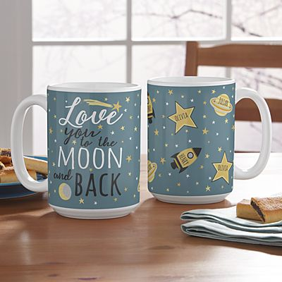 Love You To The Moon Mug