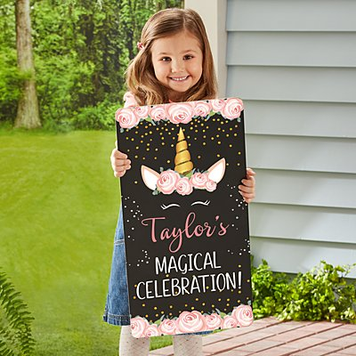 Magical Birthday Chalkboard