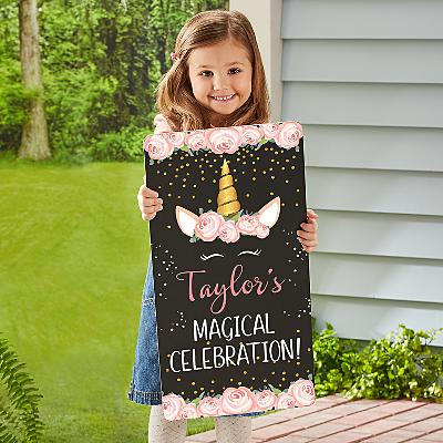 Magical Birthday Chalkboard
