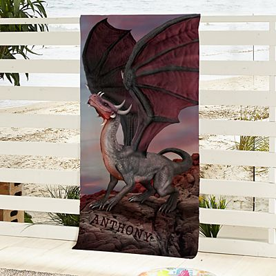 Dragons Beach Towel