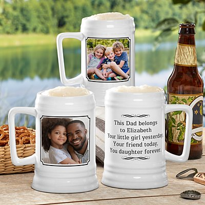 Photo Message Beer Stein