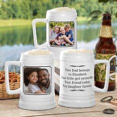 Photo Message Beer Stein
