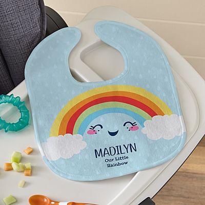 Rainbow Baby Bib