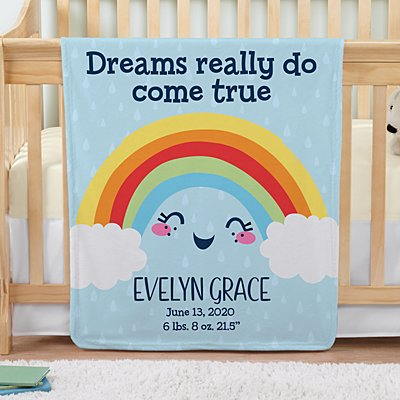 Rainbow Baby Blanket